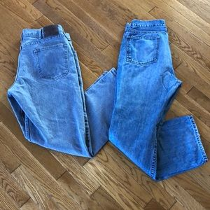 Men's jeans. Wrangler and Apt 9.